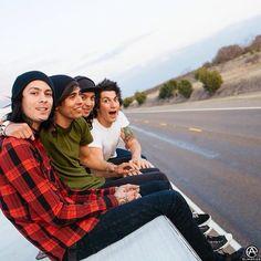 Mike, Vic, Tony, Jaime