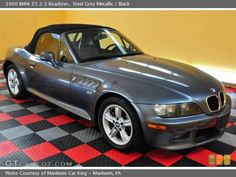 This is my baby: a 2000 BMW Z3 Roadster. So much fun to drive!