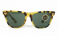 Luxury vintage Sunglasses - Details of ray-ban-wayfarer-ii-yellow-tortoise-by-bl Cartier Pasha, Persol, Vintage Sunglasses, Harris Tweed, Ray Ban Sunglasses, Tortoise, Wayfarer, Lenses