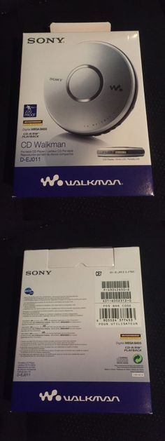 Personal CD Players: *New* Sony Portable Cd Player Discman Walkman - D-Ej011 - Brand New In Box -> BUY IT NOW ONLY: $220 on eBay!