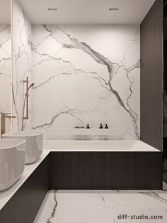 Studio › Functional flat in Kyiv Minimalist Bathroom Design, Bathroom Design Luxury, Bathroom Design Small, Dream Bathrooms, Amazing Bathrooms, White Bathrooms, Luxury Bathrooms, Master Bathrooms, Small Bathrooms