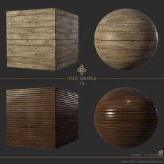 ArtStation - The Order: 1886 airship wood flooring, Megan Parks