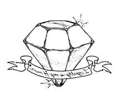 3D diamond drawing - Google Search