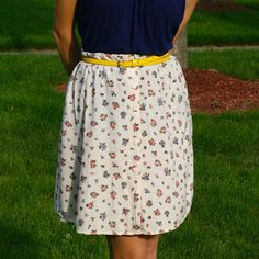 Ugly garage sale dress? Easily refashion it into something much more wearable! | la vie en rose