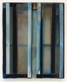 Stefan Annerel  WRENS 2012  Acrylic paint, resin and glass on wood  106 x 86 cm