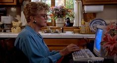 """A look at Angela Lansbury's white Victorian house in the long-running series """"Murder, She Wrote,"""" and the town of Cabot Cove. Angela Lansbury, Detective, Cabot Cove, Mystery Show, Murder, Miss Marple, Judi Dench, Cozy Mysteries, Old Tv"""