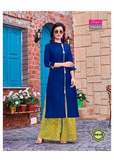 Details about  /Kurtis Plazzo Rayon Kurti India Pakistani long Flared Kurta Maxi Dress for women