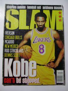 Slam Magazine Kobe Bryant cover