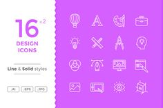 Design Icons by filborg on @creativework247