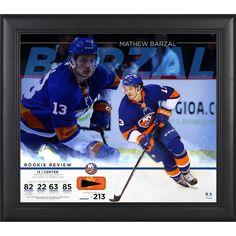 7f8e4890e Mathew Barzal New York Islanders Fanatics Authentic Framed 15