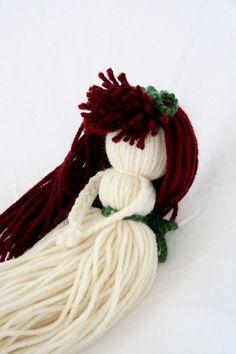 Yarn Doll - Samantha. $6.95, via Etsy.