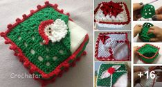 Porta Servilletas Navideños en Crochet Baby Knitting Patterns, Crochet Patterns, Free Crochet, Knit Crochet, Christmas Sweaters, Christmas Ornaments, Tent Wedding, Elsa, Projects To Try
