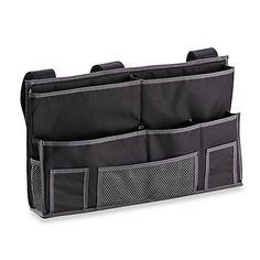 Bedside Storage Caddy in Black