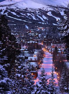 ahh want to go skiing so bad! Breckenridge Ski Resort in Colorado