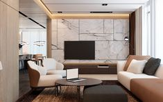 Interior design by Space Options for private apartment