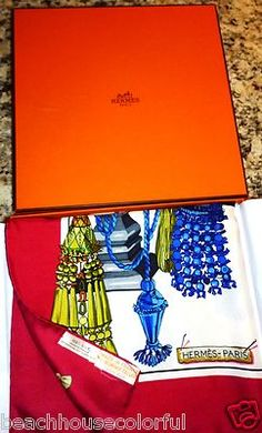 Vintage Hermes Scarf my mom has a ton of these