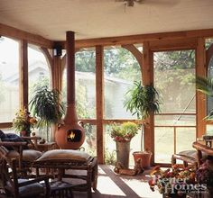 Screened Back Porches On Pinterest Back Porches