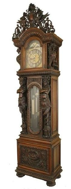 Grandfather clock, of course