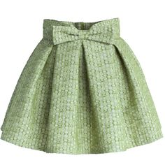 Chicwish Sweet Your Heart Bowknot Pleated Mini Skirt in Pea Green (69 BGN) ❤ liked on Polyvore featuring skirts, mini skirts, bottoms, saias, faldas, green, pleated skirt, green skirt, short pleated skirt and short mini skirts
