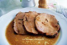 L'arrosto morto è un grosso pezzo di carne, generalmente di vitello o di vitellino, che viene legato con dello spago insieme a degli aromi e che viene poi cotto lentamente e a lungo in casseruola e servito poi a fettine sottili, insieme al suo sughetto di cottura.