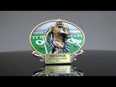 Burst Through Series Football Trophy Football Trophies, Awards, City, Cities