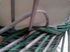 Мастер-класс Плетение МК загибочки Бумага газетная Трубочки бумажные фото 3