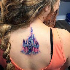 """""""Mi piace"""": 252, commenti: 5 - Tattoo Me Charlotte (@tattoomeclt) su Instagram: """"Where dreams come true by @tattoome_stacy #tattoo #tattooart #tattoos #tattooartist #besttattoos…"""""""