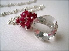 rubies and crystals