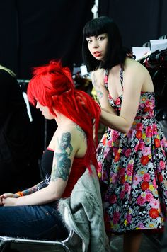 Kissed Lashes @ The British Tattoo Show
