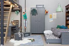 De Dennis collectie. WOOOD. Kidsroom. Boys room.