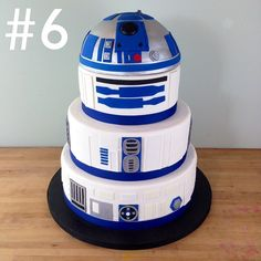 Love this cake!!!!!!!!!! R2D2 Cake ~ Immaculate