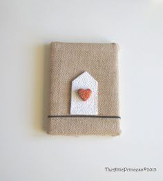 Valentine's day shabby heart home original by TheAtticPrincess, €14.50
