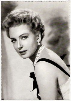 A beautiful British Actress Deborah Kerr