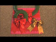 DIY: Duct Tape Wreath & Bow