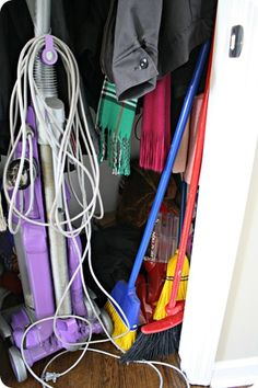 Closet reorganization ideas--to do in the new house BEFORE it gets messy!