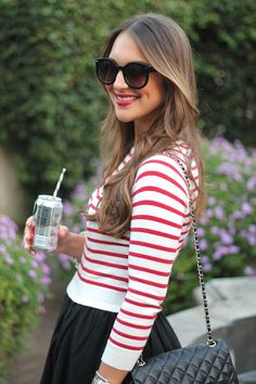 Nautical Summer Look on Carrie Bradshaw Lied