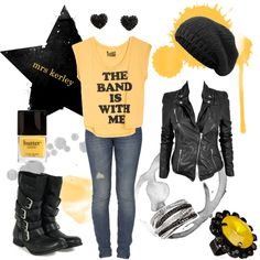 I really don't like yellow, but this is cute