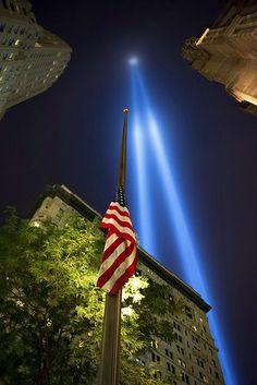 Tribute In Light by Rafakoy, via Flickr