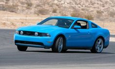 2010 Ford Mustang GT...in grabber blue! :D