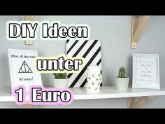 4 DIY Ideen unter 1 Euro | Deko und Geschenke | Ria Marleen - YouTube