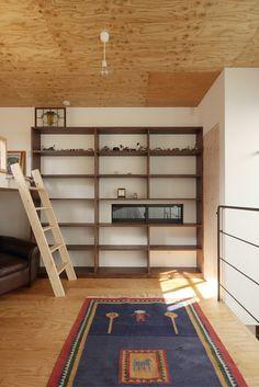 小さな空間の天井高さは、なんと4.7メートル! デザイン住宅.狭小住宅|大阪.兵庫.京都|建築家 Coo Planning