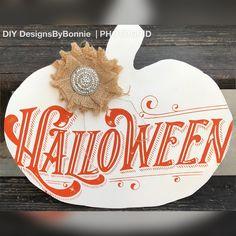 Chalk Couture transfer and Chalkology paste Halloween Pumpkins, Halloween Crafts, Halloween Decorations, Halloween Costumes, Home Crafts, Crafts For Kids, Chalk Crafts, Chalk Ideas, Spooky Decor