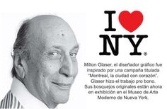 #‎Logotipos‬ famosos y sus creadores Milton Glaser, Insight, Branding, Logos, Famous Logos, Product Display, Quotes Motivation, Museums, Brand Management