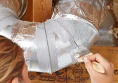 How to Locate & Seal Duct Work Leaks- Leaky and poorly insulated ducts (especially in attics) severely compromise the performance of your heating and cooling equipment. Sealing and insulating your ducts can increase the efficiency of your heating and cooling system by 20 percent and greatly increase air flow. (Lowering that power bill!)