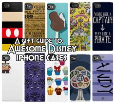 Mickey Fix Gift Guide to Awesome Disney iPhone Cases i love the walle and he icecream XD