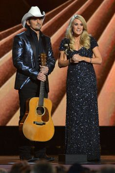 Did You Notice How Many Times Carrie Underwood Changed Dresses Last Night?
