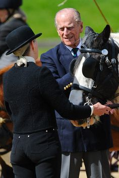 Prince Philip Photos Royal Windsor Horse Show