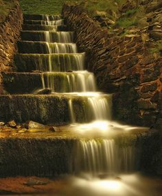 """Jesus said:  """"whoever drinks the water I give them will never thirst""""   Nine Steps .. Birkhill, Scotland"""