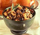 A classic Thanksgiving stuffing recipe with the lovely addition of California Dried Plums and chesnuts.