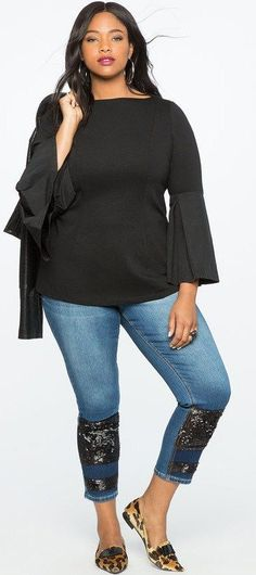200e4176e259 505 Best Curvy outfits images | Plus size outfits, Curvy fashion ...